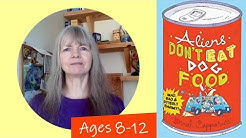 Middle Grade Book Reviews for Kids: Aliens Don't Eat Dog Food by Dinah Capparucci