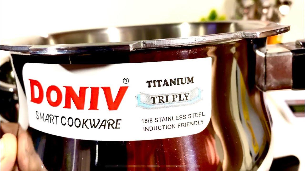 Handi Cooker Steel | Prestige deluxe alpha Svachh cooker | Doniv titanium Tri-ply handi cooker