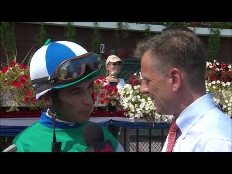 Post Race Interview - With Anticipation with John Velazquez