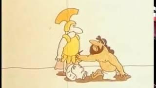 Мультфильм Колесо фортуны, 1980. Шуточная Древняя Греция к Олимпиаде-80