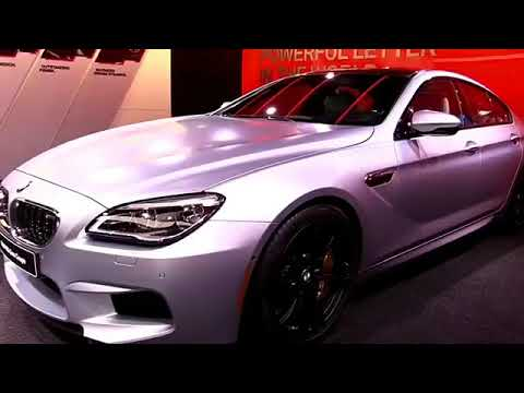 2019 Bmw M6 Gran White Coupe Premium Features New Design Exterior Interior First Impression Hd