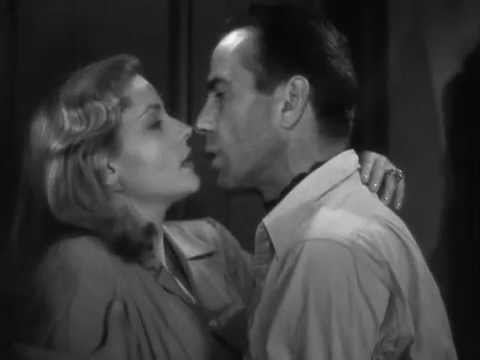 To Have and Have Not (1944) -Slap and Kiss - Humphrey Bogart - Lauren Bacall