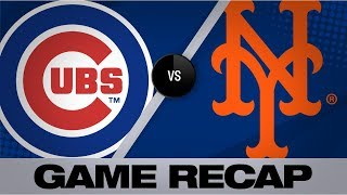 6-run 1st carries Cubs over Mets in slugfest | Cubs-Mets Game Highlights 8/28/19