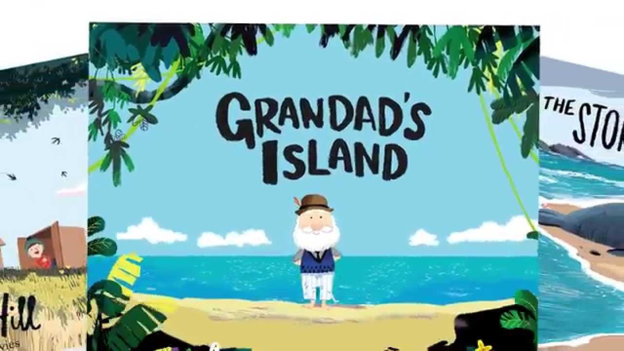 Grandad's Island by Benji Davies - Book trailer