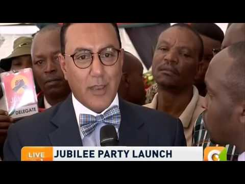 CS Najib Balala on Jubilee Party Merger