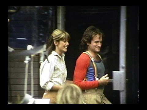Super 8 film clip - Mork & Mindy filming in Boulder