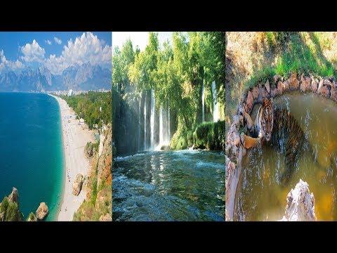 ANTALYA GEZİSİ-Gezdik Gördük 1. Bölüm ( Düden Şelalesi , Konyaaltı Plajı , Hayvanat Bahçesi )