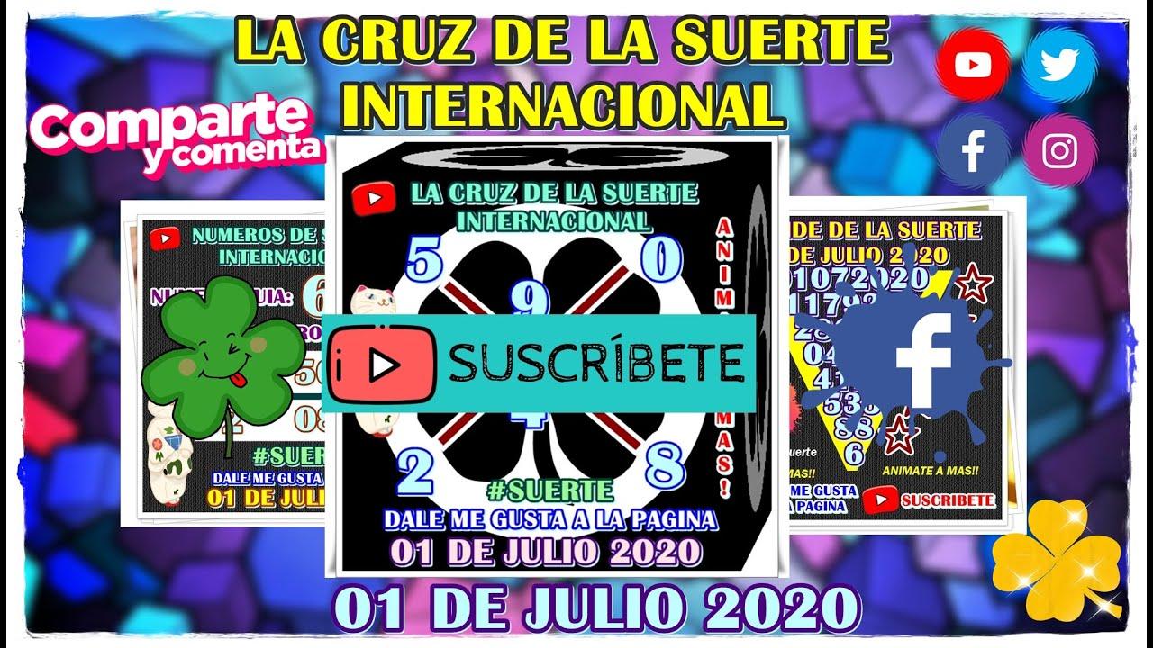 Cruz!! 01 de Julio 2020 - la cruz de la suerte