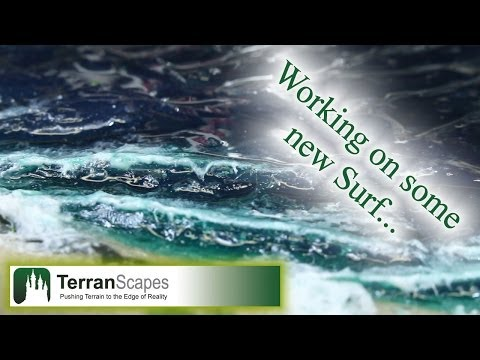 TerranScapes - New Modular Board Ocean Prototype - wargame t