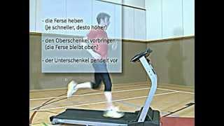 Besser Laufen - Die richtige Lauftechnik