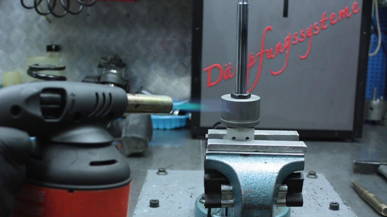 Repair of rear shock absorber WP BMW K1600GT - part 1