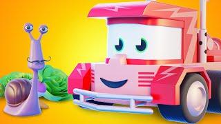 Truck Games - Похититель овощей Мультфильмы с грузовиками для детей -