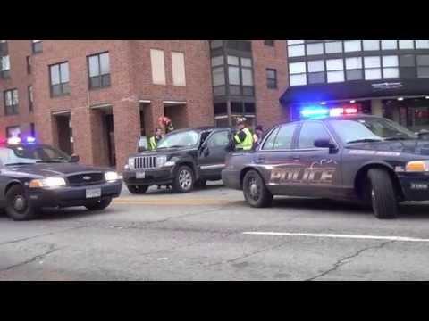 Rollover Crash at Arlington Heights Road and Miner Street Arlington Heights