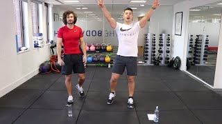 Mr PMA + The Body Coach ||  8 Minute Abs Workout