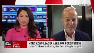 Michael Bociurkiw on CBC News Network with Natasha Fatah
