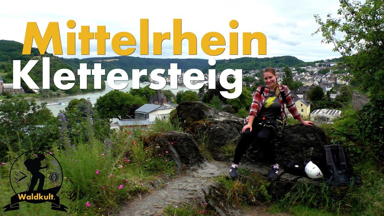 Klettersteig Nochern : Der mittelrhein klettersteig bei boppard ein kleines abenteuer