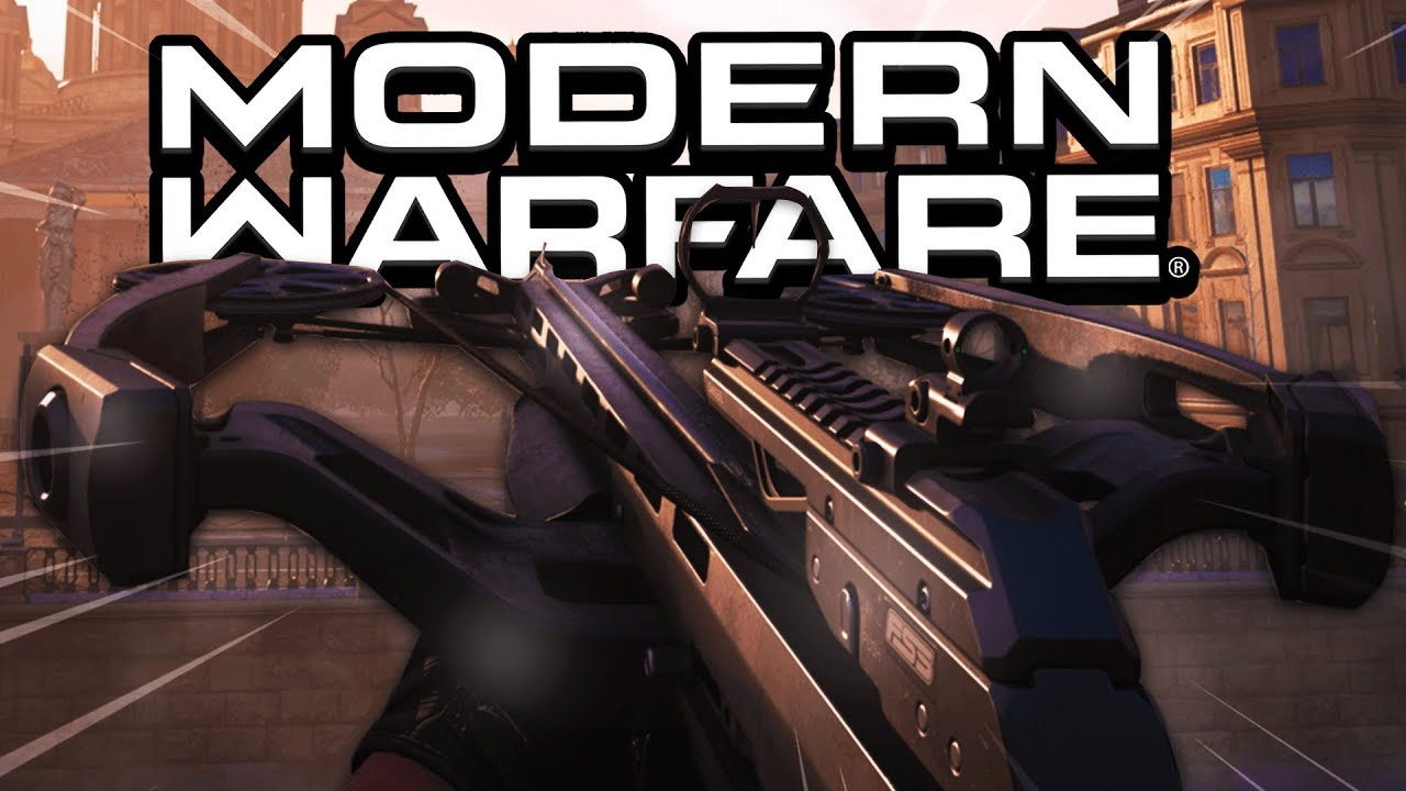 So THEY Added The CROSSBOW In MODERN WARFARE! ? (FREE DLC Weapon) - COD MW