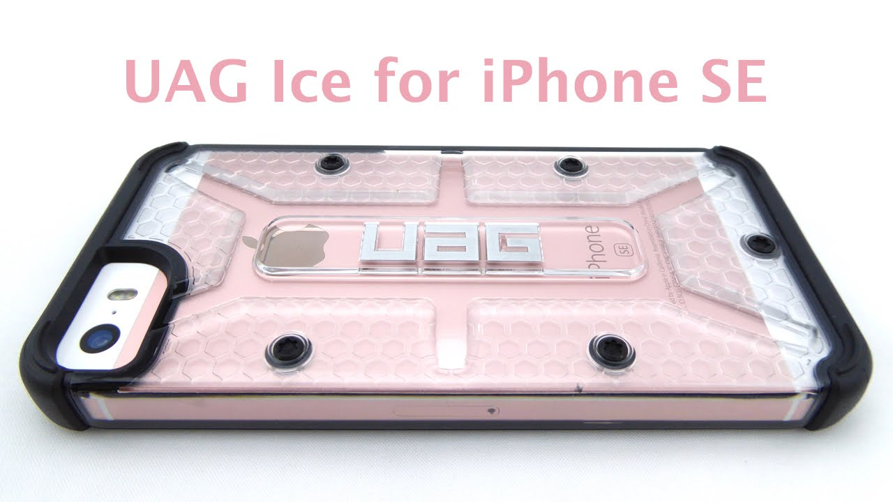 purchase cheap 311df 79c24 UAG Ice for iPhone SE: Clear Mil-Spec Protection!
