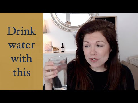 Add this to water to avoid dehydration