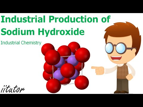 √ Industrial Production Of Sodium Hydroxide | Industrial Chemistry