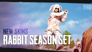 PUBG - New Skins - Rabbit Season Set