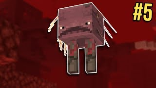 Minecraft: Nether Survival Let's Play Ep. 5 - Flying Strider Mystery