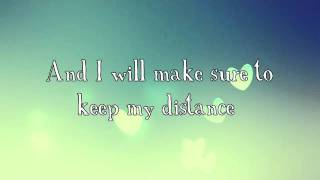 Distance- Christina Perri (with lyrics)