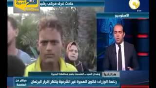 فيديو.. محافظة البحيرة: انتشال 168 جثة في حادث مركب رشيد حتي الآن