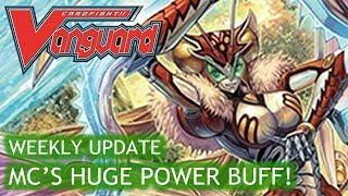 Cardfight!! Vanguard Weekly Update - Megacolony's Huge Power Buff! - 24th November 2017