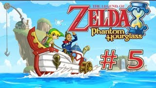 "Guia Zelda - Phantom HourGlass - # 5 ""  Isla molida , Pala e Isla del Viento """