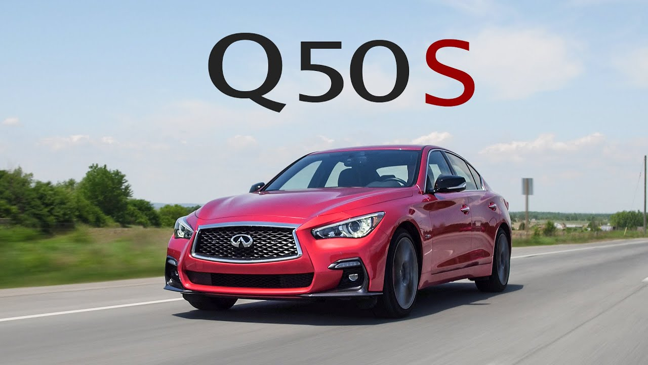 2018 Infiniti Q50 Red Sport 400 Review - More Grand Touring Than Sports Sedan