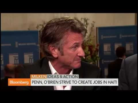 Sean Penn: Jobs Are Next Phase of Haiti's Recovery