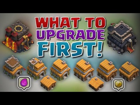 What To Upgrade FIRST At A New Town Hall Level! | Clash of Clans