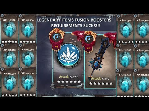 Dungeon Hunter 5- WHY LEGENDARY ITEMS REQUIRE MORE FUSION BOOSTERS[FULL HD]