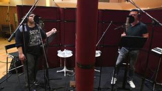 beauty and the beast voice cast recording