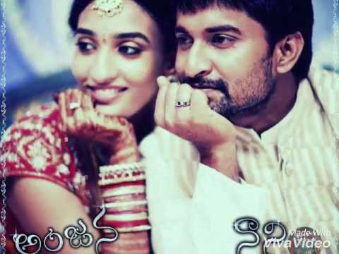 (Arere yekkada song)♥nani and his wife anjana pic's♥
