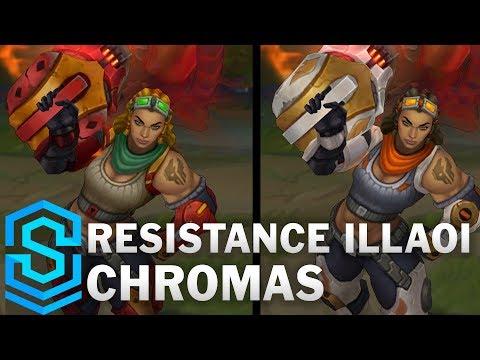 Resistance Illaoi Chroma Skins