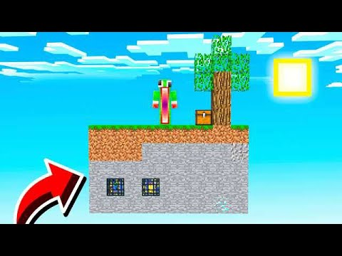 SURVIVING ON A 2D MINECRAFT ISLAND! *IMPOSSIBLE*