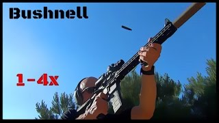 Bushnell AR Optics 1-4x24mm Throw Down PCL Budget Scope Review (HD)