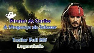 [MELHORES FILMES] - Piratas do Caribe: A Vingança de Salazar  Trailer Legendado - FULL HD 2017