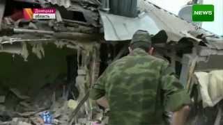 Война на Украине Последствия обстрела Горловки Мировые новости Донецк Луганск