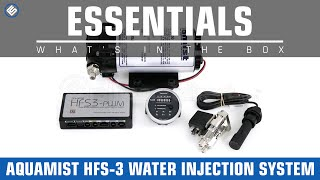 Aquamist HFS-3 Water Injection System- Whats in the Box?