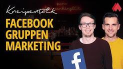 Facebook Gruppen Marketing-Nutzung für mehr Reichweite | morefire Kneipentalk