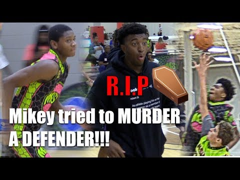 Mikey Williams TRIED TO MURDER A DEFENDER at MSHTV Camp