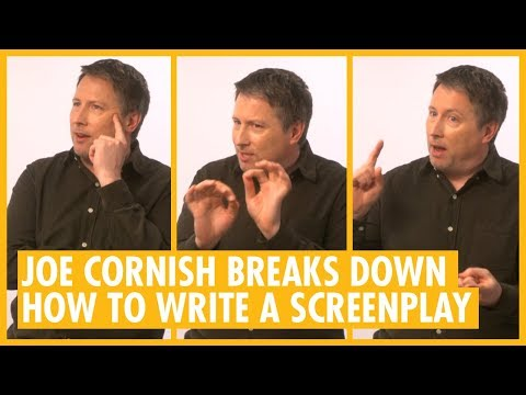 Joe Cornish Reveals The Secret To A Great Screenplay - The Kid Who Would Be King