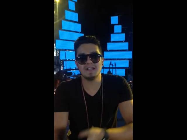 Luan Santana — Agradecimento indicação Melhores do ano 2013 — Rede Globo