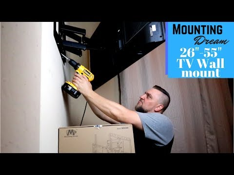 How I Hung My TV With No Studs