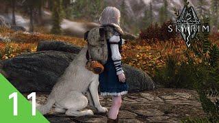 【PC版 Skyrim SE】#11 森ガールはモフモフしたい。