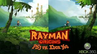 Rayman Origins PS3 vs 360 comparison