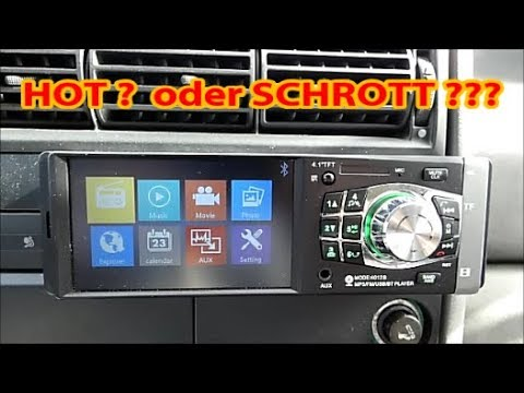 vw t4 transporter china autoradio einbauen kleines. Black Bedroom Furniture Sets. Home Design Ideas